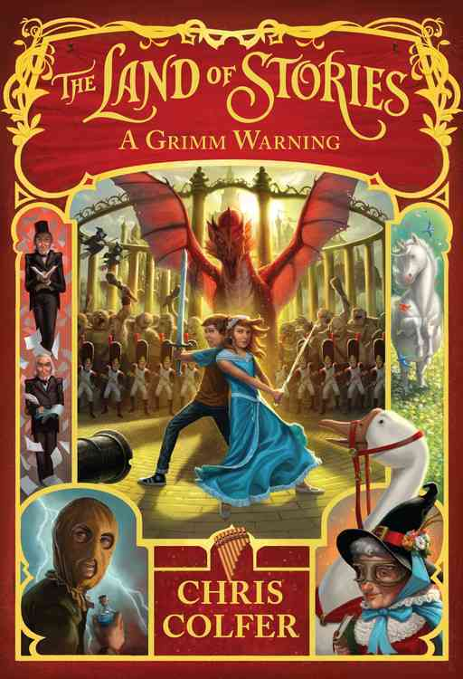 A Grimm Warning By Colfer, Chris